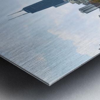 Hancock Over Lincoln Park Metal print