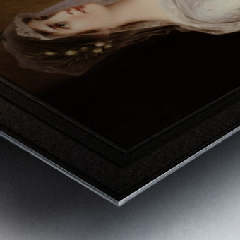 Laura by Conrad Kiesel Classical Art Xzendor7 Old Masters Reproduction Metal print