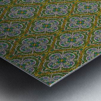 Mosaic 55 Metal print