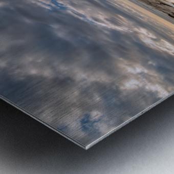 Low Tide in Petit Etang Metal print