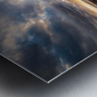 The Glory Metal print
