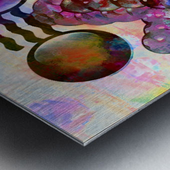 Hado Energy 16 Metal print
