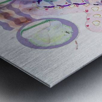 Hado Energy 18 Metal print