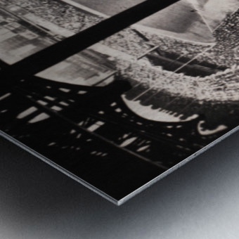 1963 Yankee Stadium Art Metal print