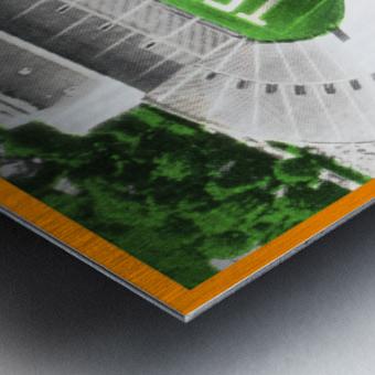 1964 Tennessee Vols Football Ticket Stub Remix Metal print