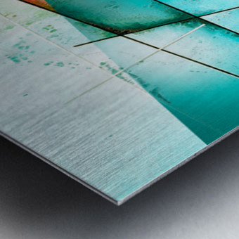 ABSTRACT ART BRITTO QB300 Metal print