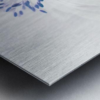 Anemone blanda Metal print
