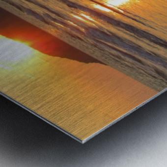 Footprints in the Sand 2 Metal print