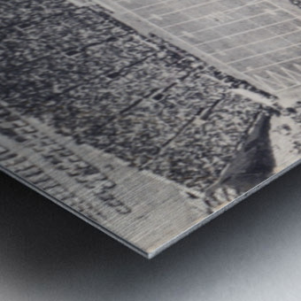 1963 Arkansas Razorbacks vs. Oklahoma State Cowboys Metal print