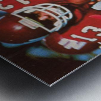 1983 Northern Illinois Huskies Football Poster Metal print