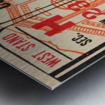 1946 Colorado College Tigers  vs. Colorado A&M Aggies Metal print