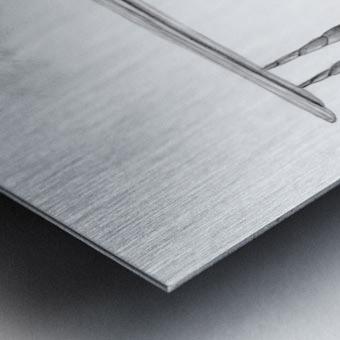 DREAM 01 Metal print