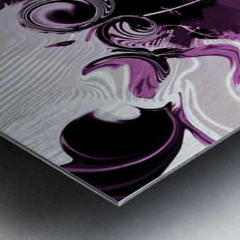 Vision of Emotional Information Metal print