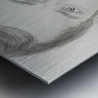 Portrait Metal print