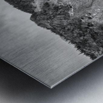 Cliffs of la Grande Falaise Metal print