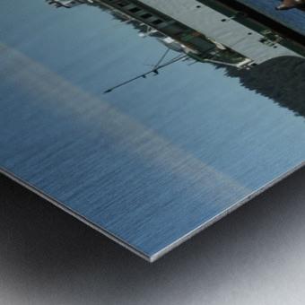 Baynes Sound Metal print