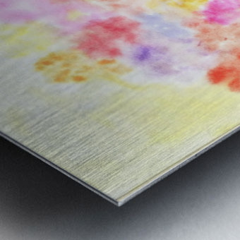 Flower jerb Metal print