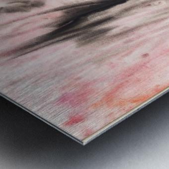 Anger. Composition 4 Metal print