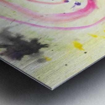 Relationship 1 (Joan Miro tribute) Metal print
