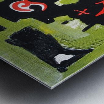 New kind of can opener Metal print