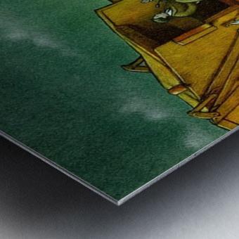 Cleaning Metal print