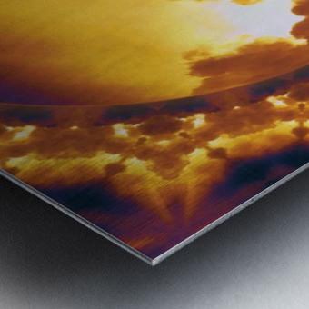 More Manipulation  Metal print