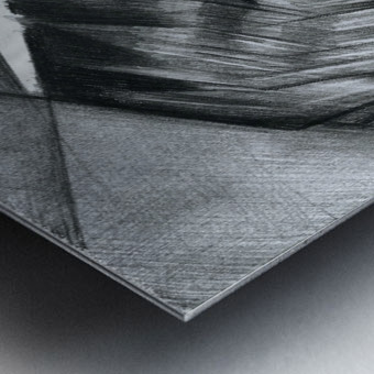 Sans titre - 08-07-15 Metal print