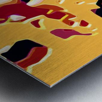 sandier  Metal print
