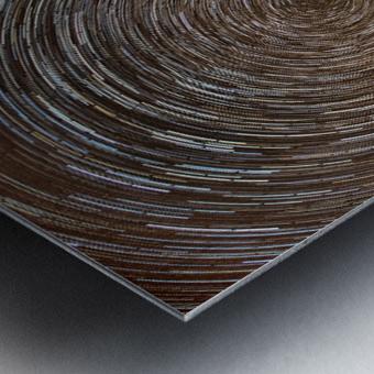 Tuscan Startrails Metal print