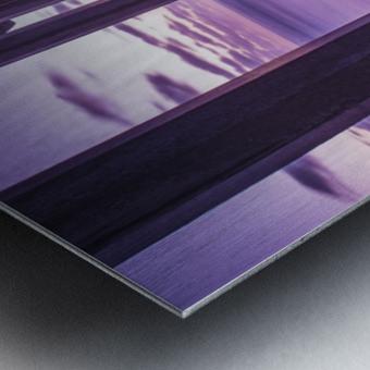 Infinite Loop Metal print