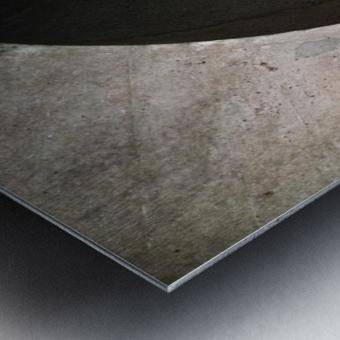 concrete wave Metal print