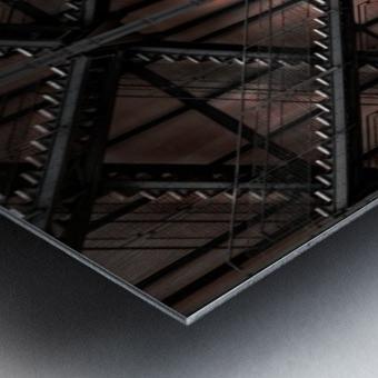 step by step and step... Metal print