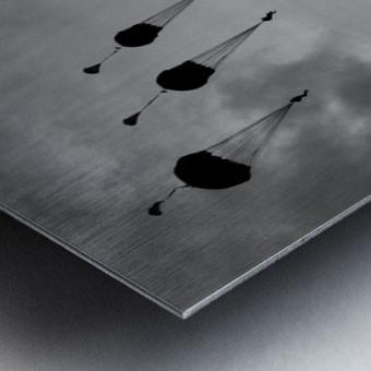GO, GO, GO! Metal print