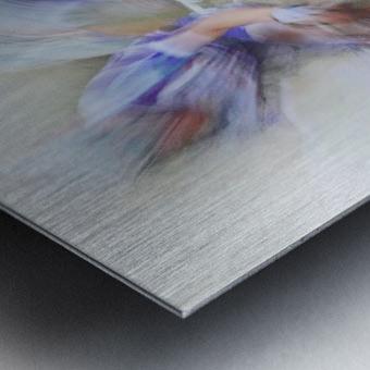 Taking the lead Metal print