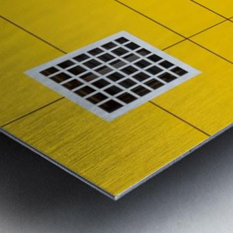 four square Metal print