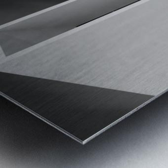 WHITE WALLS Metal print