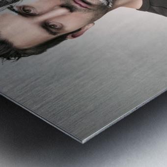 Self sketch Metal print