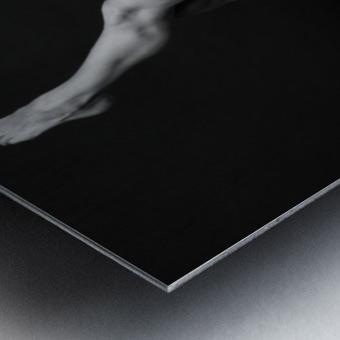 bodyscape Metal print