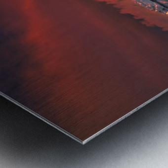Ice & Fire Metal print