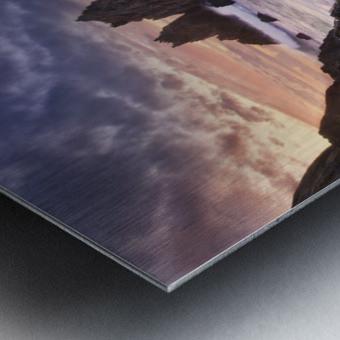 Meeting of Waters Metal print