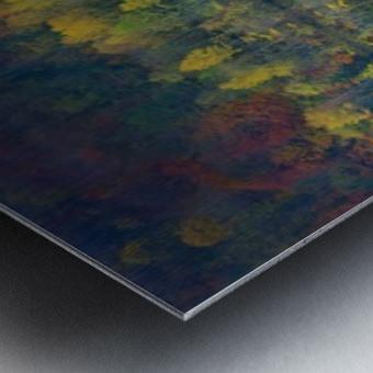 Autumnal silence Metal print
