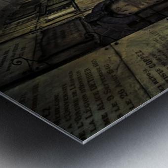 LaCrypt Metal print
