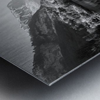 La mongolfiera Metal print