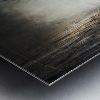 Street Metal print