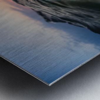 Under the wave Metal print