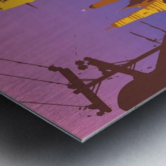 Visit Bangkok Metal print