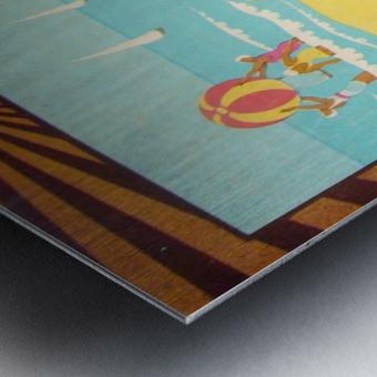 Bruni Plage Metal print