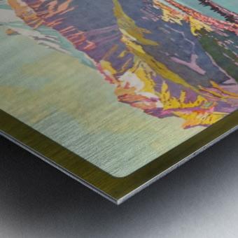 Lake of Geneva Metal print