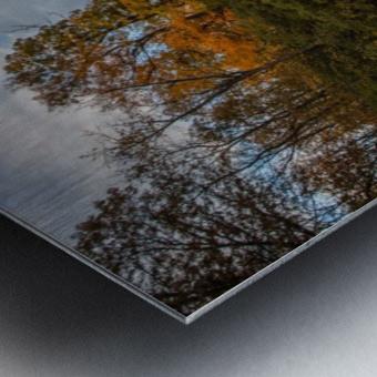 River side Metal print