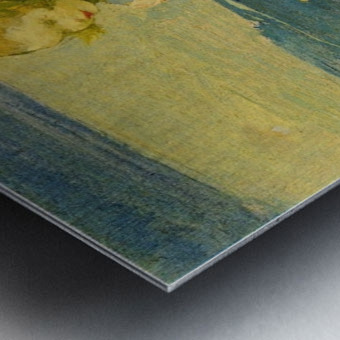 In the Surf Metal print